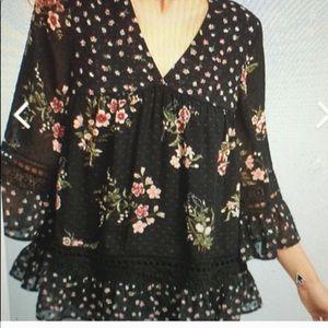 Anthropologie Maeve Flowy blouse
